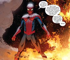 The Return of Peter Parker in Miles Morales: The Ultimate Spider-Man #4 - David Marquez