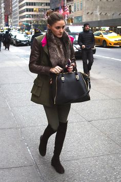 Olivia Palermo winter outfits