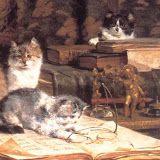 Theodor Aman(20 martie 1831 – 19 august 1891), pictor român | my heart to your heart Pierre Bonnard, Antwerp, Romania, Van, Kittens, Dogs, Animals, Paintings, Illustrations