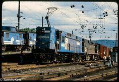 Concept Art World, Pennsylvania Railroad, Electric Locomotive, Bahn, Train Car, Airplane, Trains, Diesel, Vehicle