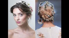 Flowers in the Hair Dolce & Gabbana THE HOTTEST HAIRSTYLES FOR SPRING 2014