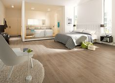 Medium French Oak laminate flooring perfectly replicates the deep rich texture found in solid oak flooring. Boasting a high quality finish and an affordable price, oak laminate flooring reveals a practical substitute to real wood flooring. Grey Laminate Flooring, Waterproof Laminate Flooring, Timber Flooring, Wood Laminate, Flooring Ideas, Egger Laminat, Design Parquet, Grey Tiles, French Oak