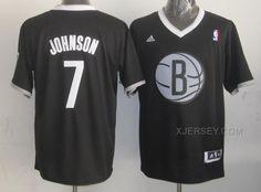 http://www.xjersey.com/nets-7-johnson-black-christmas-edition-jerseys.html NETS 7 JOHNSON BLACK CHRISTMAS EDITION JERSEYS Only 32.17€ , Free Shipping!