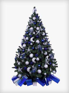 Stary Night Yule Christmas Tree  #christmas #tree #hire #rental #star