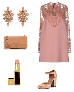"""""""Untitled #135"""" by eva-skok on Polyvore featuring Elie Saab, Chanel, Tom Ford and Laurence Dacade"""
