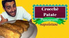 Un must della rosticceria napoletana! I CROCCHè DI PATATE o panzarotti napoletani! qualcuno le  chiama crocchette di patate ma pr me restano i panzarotti! ripieni con mozzarella e salumi, una bontà incredibile!