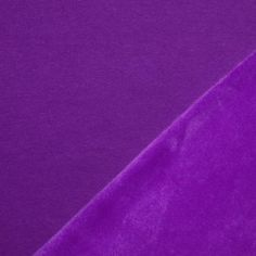 Alpenfleece Sweatshirt Stoff Violett