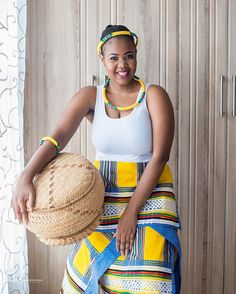 Venda Traditional Attire, African Traditional Wear, Girl Hairstyles, Braided Hairstyles, Straw Bag, Braids, Cover Up, Lady, Hair Styles