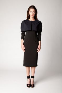 Spring Summer 2013 cap sleeve dress Cap Sleeves, Dresses With Sleeves, Fitted Caps, Peplum Dress, Cold Shoulder Dress, Spring Summer, Collection, Fashion, Moda