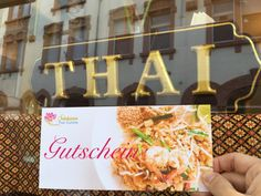 Gutschein Salakanan THAI Restaurant Offenburg Thai Restaurant, Gift Cards, Home Made, Foods
