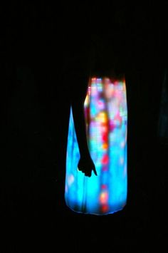 LED dress by Hussein Chalayan