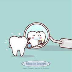 Who knew the dental mirror was the original selfie stick!? #DentistHumor #DentistFun #SelfieStick #Mirror #Selfie #TGIF #FriYay #FridayFun