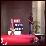#TEDx #TEDxYD #Qatar  Tejas-Kumar last speaker for session 1   was so emotional .. he got the audiance attention