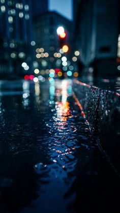 Rainy city wallpaper for android and iphone rain city light wallpapers in