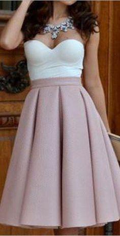 Resultado de imagen para vestidos falda campana