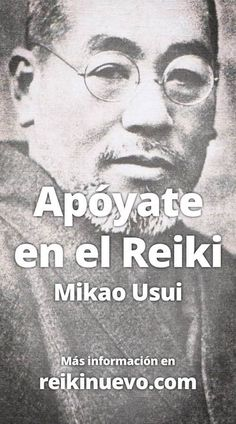 Apóyate en el Reiki (Mikao Usui), sus palabras hablan de una realidad que muchos de nosotros hemos podido o podremos experimentar con amor. Más información: http://www.reikinuevo.com/apoyate-reiki-mikao-usui/
