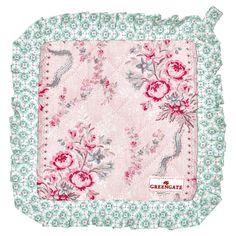 Elsas Hem - Grytlapp Betty, Pale pink set med 2 stycken, GreenGate