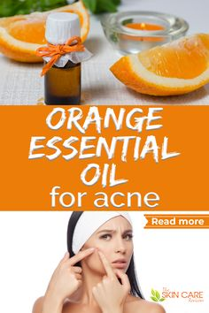 Find how to use orange essential oil for acne, acne scars, oily skin, blackheads and more. Diy orange oil recipes included. Jump to theskincarereviews.com #orangeoilskin #sweetorangeoil #orangeessentialoil #acneoil Wild Orange Essential Oil, Oregano Essential Oil, Essential Oils For Skin, Best Acne Products, Best Skincare Products, Beauty Products, Acne Oil, Clear Skin Tips