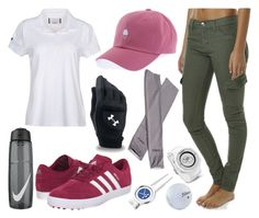 Golf Outfit #1 by tania1711 on Polyvore featuring Helly Hansen, Rusty, Under Armour, adidas Golf, Cufflinks, Inc., NIKE and Garmin