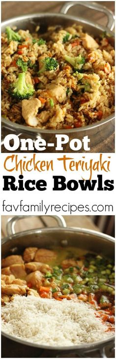 One of my favorite one pot dinners. My kids were begging for seconds! If you like rice bowls, you have got to try this recipe.