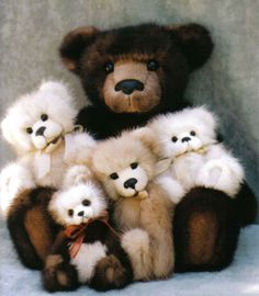 Let's be cuddly teddy bears. Everybody loves them, nobody cares if they're fat…