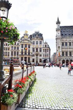 In Brussels, Belgium. Places To Travel, Places To See, Bósnia E Herzegovina, Visit Belgium, Brussels Belgium, Montenegro, European Travel, Architecture, Travel Photos
