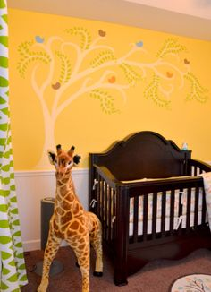 My little man's room courtesy of my SIL