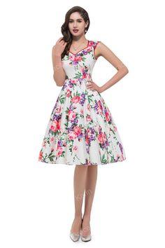 "Classy ""Audrey"" Vintage Style 1950's Dress"