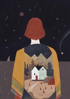 """#Александрa_Дворниковa Бетти Альвер  ГОЛОСА  """"Когда смолкает город, никнет ветер,  в храпящий рот луна из окон светит,  грибы глядят сквозь мох небесный —  звезды, тогда не сплю, хожу, смотрю..."""""""