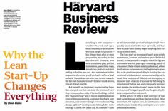 """Free Reprints of """"Why the Lean Startup Changes Everything"""""""