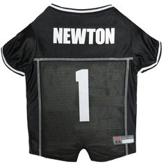 8c571cfecd2 Cam Newton #1 Pet Jersey – Major League Pets Pet Gear, Pet Clothes,