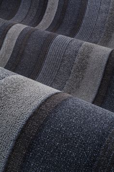 Rich textures are revealed up close with the Lindstrom Collection from Milliken. Available in broadloom and modular carpet. #officedesign #carpet #interiordesign #flooring #floorcovering