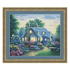 Peaceful Place Counted Cross Stitch Kit - Cross Stitch, Needlepoint, Embroidery Kits – Tools and Supplies