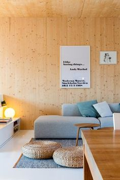 Wooden Box 2, #Brussels | Spotless Architecture #livingroom #timber #poster