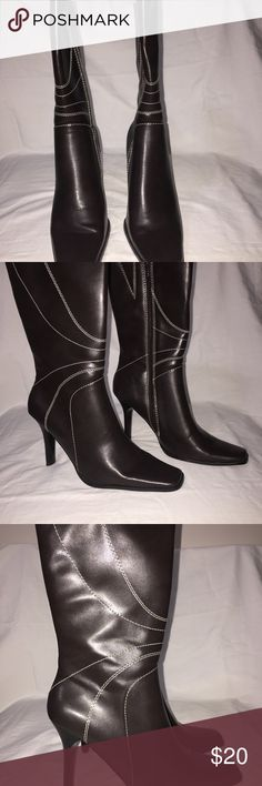 Diba Boots Boots are man made materials and never been worn. With great regret cleaning out the closet my lost may be your treasure. Diba Shoes Heeled Boots