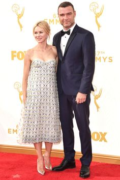 The top 10 best dressed at the Emmys last night: Naomi Watts in Dior Haute Couture.