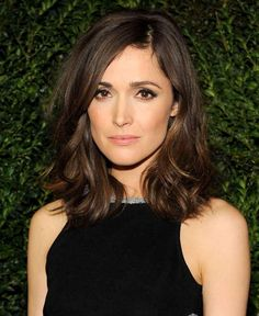 Modern short hair. Rose Byrne - but with bangs
