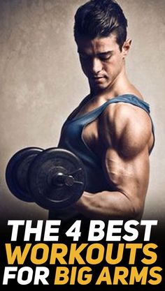 Check these 4 biceps workouts for bigger arms! The workouts are designed in four different ways: 1) to build mass; 2) to work on your biceps peak; 3) workout n the short head (for those impressive flexes at the gym; and 4) add definition to your biceps. The article also comes with downloadable #workout sheets so that you can just save them to your mobile phone and use then when at the #gym or you can even print them out if you're more of a fan of printouts. #fitness #muscle #exercise…