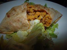 Spicy butternut & lentil dhal parcels Dhal, Vegetable Side Dishes, Lentils, Vegetarian Recipes, Spicy, Vegetables, Ethnic Recipes, Food, Vegetable Sides