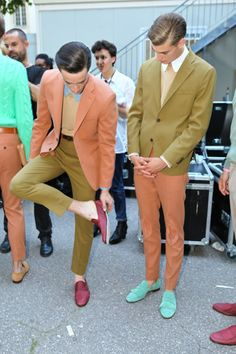 colorful boys