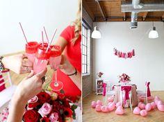 Inspiração: decoração de chá de cozinha pink com rosa http://www.blogdocasamento.com.br/cha-de-panela-nova-estrutura/decoracao-cha-panela/decoracao-de-cha-de-cozinha-pink-com-rosa/