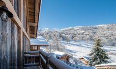 Chalet L'Abreuvoir in Méribel, France #chalet #mountain #view #luxury