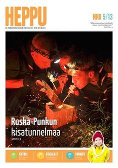 Heppu 5/2013 - Punkun yörastin rastitehtävä: valmista kuksa