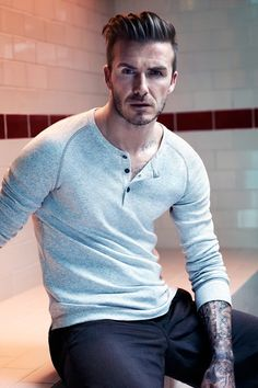 David Beckham New H Collection Pictures