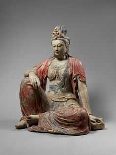 Bodhisattva, China, Song dynasty, 12th c., 103 cm. © Collection Myrna et Samuel Myers