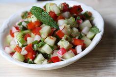 Vegetable-Mint Salsa Recipe on Yummly