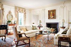 Mariette Himes Gomez Decorates the Oldest House in Washington, D.C. Photos | Architectural Digest