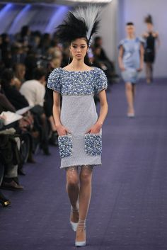 Chanel Spring '12 Couture Collection. LOVE the dress
