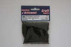 ZB033N-63 Seed Beads Opaque 6/0 Black 60 Grams