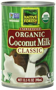 Native Forest Organic Classic Coconut Milk, 13.5-Ounce Cans (Pack of 12) Native Forest,http://www.amazon.com/dp/B001HTJ2BQ/ref=cm_sw_r_pi_dp_sUezsb0CHGNZQ43G